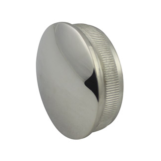 Radiused End Cap for 38.1 Round Mirror Tube